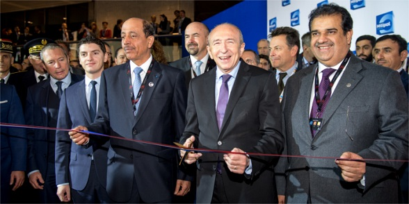 Milipol Paris 2015 opening ceremony