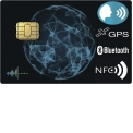 Audio & GPS concealed in Credit card