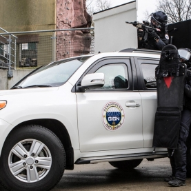 Armoured suv for counterterror team