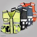 Hi vi SECURITE multipockets vest