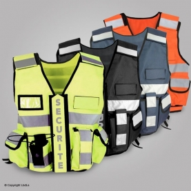 Hi vi SECURITE multipockets vest