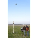 Tethered option for high performance multi-rotor VTOL system