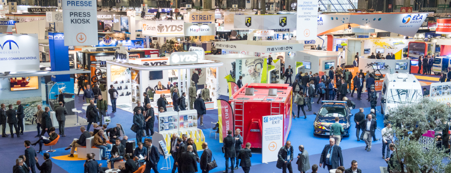 Milipol Paris 2017 exhibitors