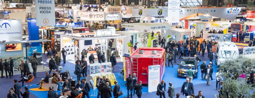 Milipol Paris 2017 exhibitors