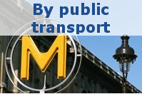 Travel to Milipol Paris by public transport