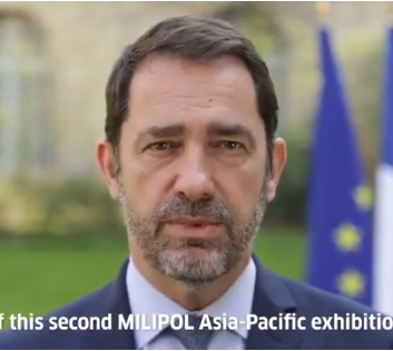 French Minister of the Interior Mister Castaner for Milipol Asia-Pacific 2019