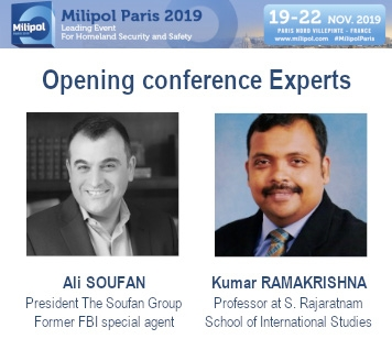 Anti-terrorism experts at Milipol Paris