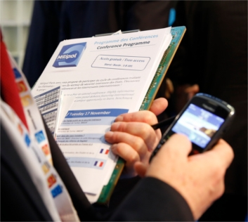 Milipol Paris 2017 mobile app