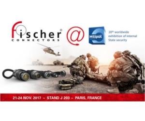 Fischer Connectors, Milipol Paris 2017 exhibitor