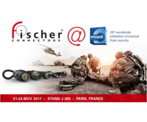 Fischer Connectors, Milipol Paris 2017 exhibitor