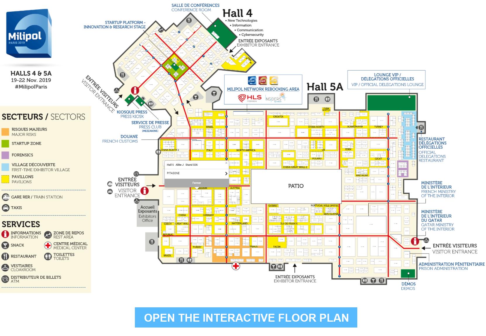 Interactive floor Plan 2019