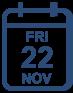 Programme Friday 22 November